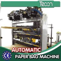 China Mutil - Wall Paper Bag Making Machine for Bottom Sealing , Automatic Feeder wholesale