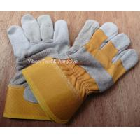 """China 10.5"""" Short Leather Welding Safety Gloves wholesale"""