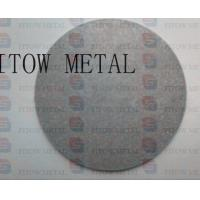 China 2015 hot sale micron sintered titanium filter disc wholesale