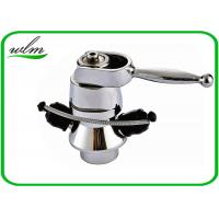 China Butt Weld Stainless Steel Sample Valve Sanitary Smooth Surface , Manual Joystick Operation wholesale