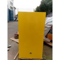 Quality Venting Flammable Safety Cabinets , Chemical Storage Containers Double Doors for sale