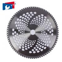 China 255mm TCT Circular Brush Cutter Blade with 100T for Garden Purpose wholesale