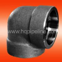 China Forged steel pipe fittings - elbow wholesale