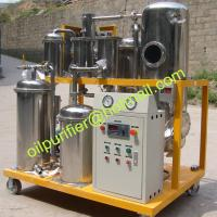 Buy cheap Portable Used Hydraulic Oil Purifier Machine, with stainless steel filtering from wholesalers