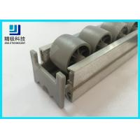 China Roller Track End Cap Aluminum Tubing Joints For Pipe Rack System AL-50 on sale