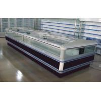 China Fan Cooling Supermarket Island Freezer With Bitzer / Commercial Meat Display Refrigerator wholesale