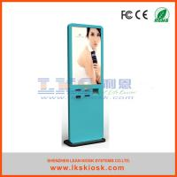 Buy cheap 46 '' Floor Standing Touch Interactive LCD Kiosk With  TIicket  Vending product
