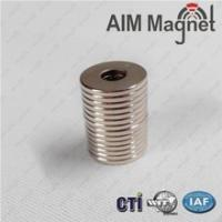 China Ring neodymium magnet permanent magnet D10xD3.7X1.5/N35 wholesale
