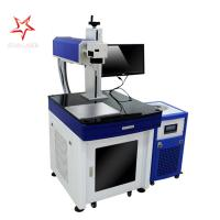China Metal Material UV Laser Marking Machine Rapid Speed With Long Life Span wholesale