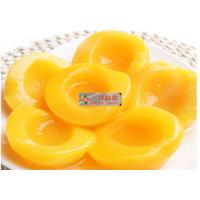 China Naturally Sweet Organic Canned Peaches Fruit Without Additives / Sugar wholesale
