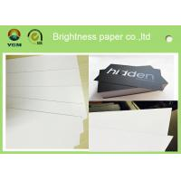 China White Coated Glossy Printing Paper Sheets For Gift Box 250gsm - 400gsm wholesale