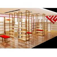 Quality Easy Install Shoe Display Cabinet Footwear With Stainless Steel Material for sale