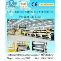 China 3 Layers Corrugated Packaging Box Making Machine 70m * 8.2m * 4.5m For Paperboard wholesale