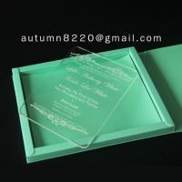 China B IC (9) plastic scrolls for invitations wholesale
