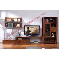 China Classic Design Solid Wood Material TV Stand for Wall Unit in Living Room Furniture wholesale