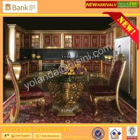 ... Kitchen Cabinet/Wooden Hand Carving Classical Kitchen Table product