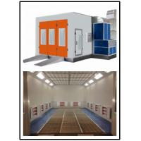 China Spray Booth Parts Galvanized Steel Panel Car Spray Booth Oven 0.25m/s Air Flow Speed wholesale