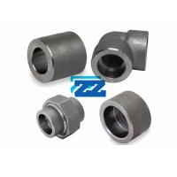 """China Carbon Steel Socket Weld Pipe Fittings 1 / 8 - 4 """" Inch Size Round Shape wholesale"""