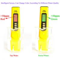 Buy cheap High Precision TDS Meter Tester / Digital TDS 3 Meter Pen Water Quality Tester from wholesalers