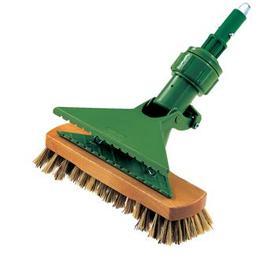 China Superior quality plastic handle round cleaning brush,ceiling brush,dusting brush wholesale