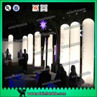 China 3M Advertising Event Decoration Inflatable Entrance,Lighting Inflatable Pillar Column wholesale
