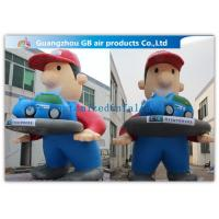 China Giant Inflatable Cartoon Characters Air Big Boy 7m for Advertising Decoration wholesale