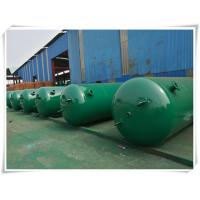 Quality 10mm Thickness Vertical Compressed Air Reservoir Tank With Flange / Screw Thread for sale