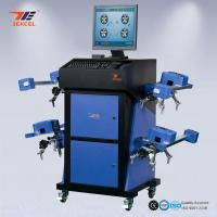 Buy cheap Computerized Automotive Wheel Alignment Equipment With 8 CCD Sensors Wireless from wholesalers
