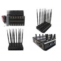China 12 Bands 12 Antennas Cell Phone Signal Jammer GSM 2G 3G 4G Long  Time Working wholesale