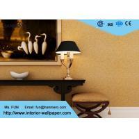 China Modern Strippable Living Room Wallpaper with Natural Vermiculite Particles Material on sale