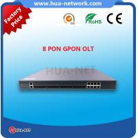 Buy cheap 1U Metal Black BDCOM OLT 8 PON Ports 10G GPON OLT with free NMS at competitive price product