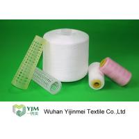 China 100% TFO Polyester Sewing Thread Dyeing Low Shrink And No Broken End wholesale
