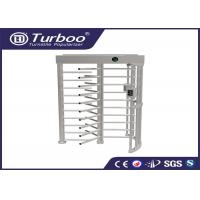 China Workshop Manual Full Height Turnstile Self Resetting Function ISO9001 CE Certificate wholesale