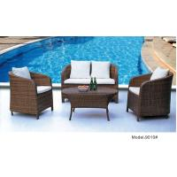 China 4pcs PE wicker high back sofa sets for outdoor -9010 wholesale