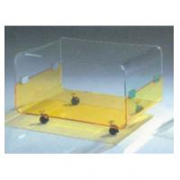 """China Clear Modern Acrylic Table Furniture With 4 Caster 30"""" * 18"""" * 19"""" wholesale"""