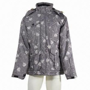 China Men's ski jacket, waterproof, breathable, fully seams taped, standard fit wholesale