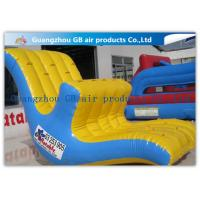 China Floating Inflatable Water Game Water Seesaw Toys Moving Up And Down In Lake / Ocean wholesale