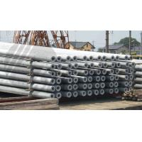 Buy cheap Hollow pole Concrete Pole Steel Mould Concrete Pole Equipment dense and high from wholesalers