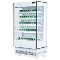 China Supermarket Fruit Vegetalbe Display Open Deck Chillers Energy Saving wholesale