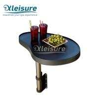 China Convenient Hot Tub Drink Caddy Polymer Spa Side Table Easy Installation wholesale