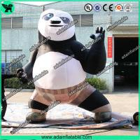 China Inflatable Kung Fu Panda Advertising Inflatable Cartoon wholesale