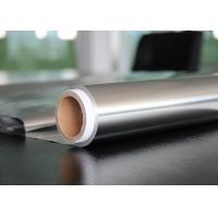 China 150M Length Aluminium Packaging Foil For Covering Bowls 0.01 mm Thickness one side bright wettability A wholesale