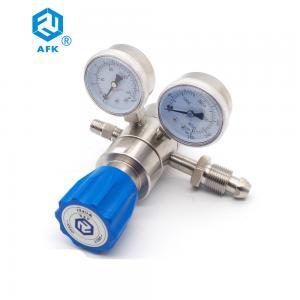 China Low Pessure 500psi Nitrogen Adjustable Argon Dual Stage Pressure Regulator wholesale