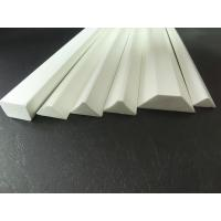 Buy cheap PVC Material Foam Chamer Plastic Extrusion Profiles Fire Resistant from wholesalers