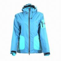 China Women's 3-in-1 Jacket, Waterproof and Breathable, with Detachable Fleece wholesale