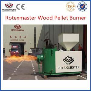 China biomass pellet burner / biomass wood burner for bioler on sale