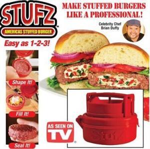 China burger press/ Stuffed Burger Press Hamburger Grill BBQ Patty Maker Juicy As Seen On TV SC on sale