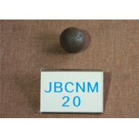 Buy cheap D 20mm Grinding Media Balls / Carbon Steel Ball for Copper Mining High Hardness 62-63HRC from wholesalers
