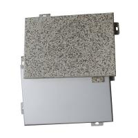 China High Strength Aluminum Alloys Perforated Metal Panels 1.5mm / 2.0mm Regular Thickness wholesale