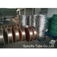 Quality TP316L Seamless custom stainless steel tubing Cold Drawn 3/8'' X 0.035'' for sale